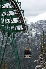 On the Way Down (JB by the Sea) Tags: canada rockies alberta banff rockymountains sulphurmountain banffnationalpark canadianrockies banffgondola september2014