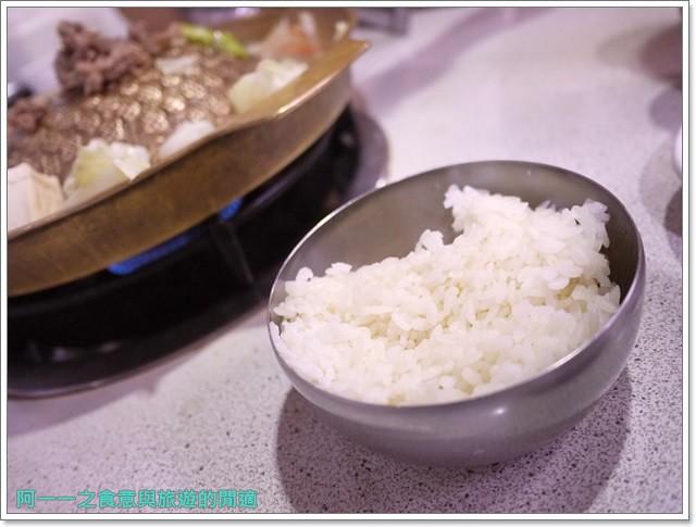 捷運行天宮站美食韓劇韓式料理東輝韓食館土豆豬骨湯銅板烤肉image019