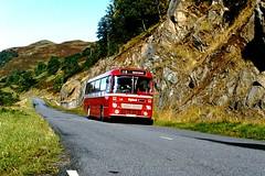 Highland L22 0930hrs Portree to Inverness October 1981 (return2layerroad) Tags: scotland alexander portree inverness dornie leylandleopard shielbridge highlandomnibuses cas516w