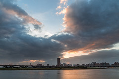 (JIMI_lin) Tags: sunset harbor  taipei
