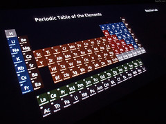 """Periodic Table of Elements beside Reaction Lab • <a style=""""font-size:0.8em;"""" href=""""http://www.flickr.com/photos/34843984@N07/15361167110/"""" target=""""_blank"""">View on Flickr</a>"""