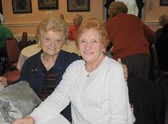 Peggy Gorman and Kathleen Murtagh