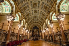 Charlies Angel (alundisleyimages@gmail.com) Tags: building tourism architecture night liverpool decorative grand wideangle interiordesign attraction merseyside stgeorgeshall tokina1116mkll