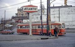 19680224 29 PAT 1671 Brownsville Rd. @ Arlington Ave (davidwilson1949) Tags: pittsburgh pennsylvania pat transit streetcar pcc