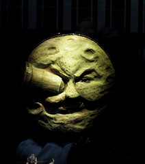 George Melies Man in the Moon Bergdorf Goodman store window 0046 (Brechtbug) Tags: voyage street new york city trip travel fiction moon man green eye film mannequin window st by lune movie french effects la early george store ship with stuck space magic inspired science luna special gargoyle galaxy le ave scifi his rocket bullet avenue universe 5th dans bergdorf 59th goodman cheeze 1902 melies a 10192014