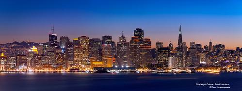 City Night Colors - San Francisco