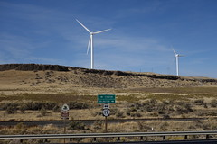 032 Wind Turbines Along Oregon's Highway 19. (scottwwwwwww) Tags: steensmountains alvordhotsprings