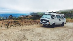 Roadtrippin' (RiaPereira - here but mostly there) Tags: california vw volkswagen bigsur roadtrip wanderlust pacificcoast westfalia letsgosomewhere vscocam roadtripchronicles ourepicadventure