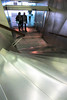 Industrial Finish (Jocey K) Tags: madrid lighting people building reflections spain stainlesssteel staircase railing caixaforum archtiecture industrialarchitecture caixaforummuseummadrid