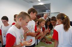 Degustación tomate ecológico puntdesabor 27