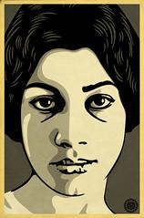 Forugh Farrokhzad (Sio1 AKA 31) Tags: woman art illustration design persian graphic iran illustrator vector forough farrokhzad   sio1 sioyek