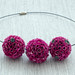 "Flowerballs magenta • <a style=""font-size:0.8em;"" href=""http://www.flickr.com/photos/40852418@N04/15458373288/"" target=""_blank"">View on Flickr</a>"