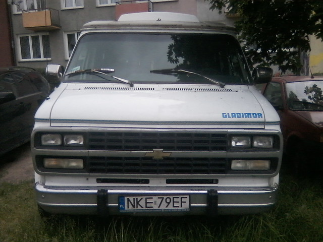 chevrolet conversion chevy van gladiator g20 19941996