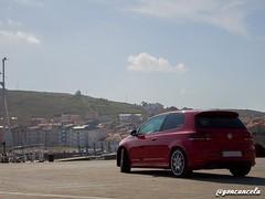 Helipuerto-2 (Gon Cancela) Tags: car vw golf volkswagen puerto paisaje galicia coche bbs tsi mkvi mk6 laxe helipuerto