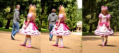 Being a sissy is a walk in the park (shellyanatine) Tags: dress sissy crossdress feminization brolita