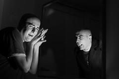 9093-114 - Il vero io 1 - BN (Diego Rosato) Tags: vampire gothic fantasy horror autoritratto ritratto