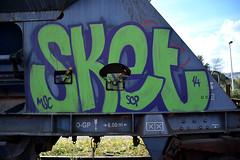 graffiti (wojofoto) Tags: amsterdam graffiti wojofoto sket msc fr8 wolfgangjosten trein freighttrain tags nederland netherland holland