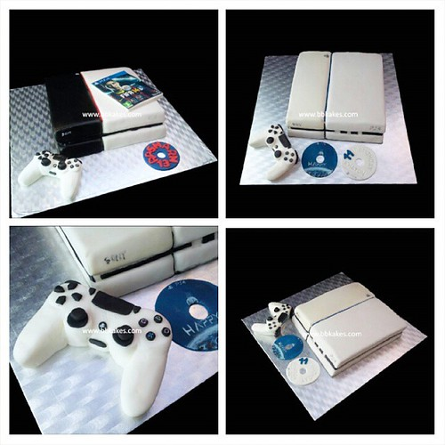 Play Station 4 Cakes By Bbkakes Ps4 Gameconsole Gaming Gamer Fifa15