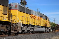 Union Pacific #2194 (EMD SD60) in Pleasanton, CA (CaliforniaRailfan101 Photography) Tags: up unionpacific cottonbelt emd pleasantonca gp382 sd60m gp402 patched sd60 ssw sd70m gp60 stlouissouthwestern sd59mx