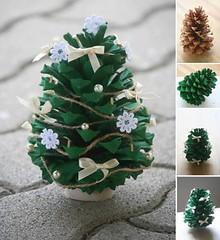 PineConeChristmasOrnament (Wonderful DIY) Tags: christmas pine cone ornament