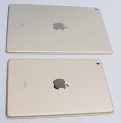 Apple iPad mini 3 and Apple iPad Air 2 back