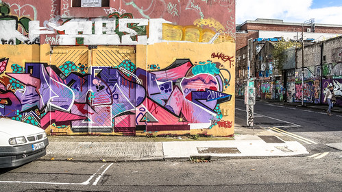 Windmill Lane [U2 Wall] In Dublin Docklands Ref-2212