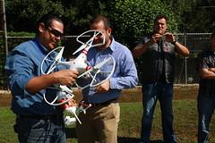 Lanzamiento de Drones