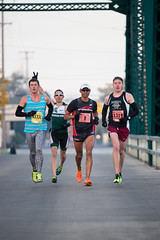 Fast & Funny (Rudy Malmquist) Tags: male men fun funny downtown michigan marathon floating grand running run rapids elite runners athletes athlete runner 262