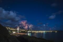 St Ives Fireworks II (JordanLaurenceJackson) Tags: holiday guy st night train stars seaside long exposure cornwall fireworks explosion ives fawkes