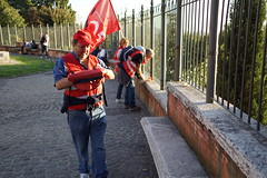 DSC05812 (10_Days_in_Rome) Tags: street old city travel bridge november windows light shadow red vacation urban italy orange cloud white rome roma tower window yellow clouds zeiss photography haze italia cityscape shadows walk sony horizon streetphotography e tiber tevere hazy top20 oldtown lazio csc pontesisto carlzeiss sisto tibre latium a7r sonnarte1824 7r ilce7r