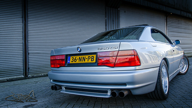 dutch club gray nederland bmw 1994 56 csi liter litre grijs remco 850 v12 lefers