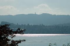 Sunny autumn afternoon on the Zurich waterfront Tiefenbrunnen station (pchurch92) Tags: switzerland zurich tiefenbrunnen