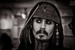 Captain Jack Sparrow (Explore) (svenpetersen1965) Tags: germany munich bavaria electronics captain johnnydepp tradeshow impersonator tradefair jacksparrow digikey electronica2014