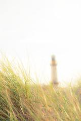 Leuchtturm am Strand