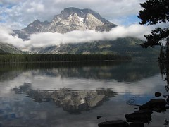 Leigh Lake, Grand Teton National Park (redbikegirl) Tags: nature landscapes hiking wyoming grandtetonnationalpark leighlake