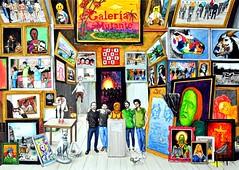 Galería y Marquetería (donghrr) Tags: artbo artecamara lamutante