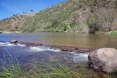Ford across Murrumbidgee (Geoff Main) Tags: river crossing australia act canonef24105mmf4lisusm murrumbidgeeriver anglecrossing canon6d