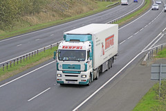 A55 Trucks (Nick Owen Images.) Tags: ireland irish wales port volvo north trucks v8 scania anglesey northwales holyhead haulage a55