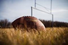 Time For Football! (Simply_Karlo) Tags: autumn fall field grass canon football goal post mark nfl ii alberta wilson 5d helios 442 chestermere