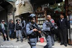 Jerusalem's Old City, 30.10.2014 (activestills) Tags: jerusalem police oldcity eastjerusalem borderpolice topimages talimayer