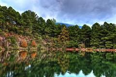 - Water Reflections (dimitrismaggioris) Tags: autumn nature colors clouds landscape greece hdr pelion vilage wideanglelens volos magnesia southpelion nikon18105 nikond7100 samyang16mmf20 aggeorgiosnilias