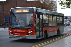 Central Buses BU12LJL (Will Swain) Tags: uk travel england west bus buses october britain transport central tram trams 23rd midland midlands 2014 bromwich bu12ljl
