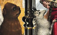 Kunst (IamBen.) Tags: art animal animals monster painting eyes many kunst kln medieval gore oilpainting grotesque mittelalter lgemlde wallrafrichards
