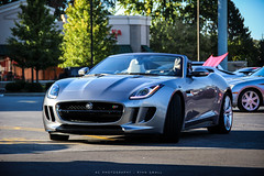 British cat. (M85 Media - Ryan Small) Tags: auto cars car canon photography rebel automobile ryan small automotive adobe vehicle jaguar autos dslr lightroom t3i ftype theacphotography amazingcars247 theacphoto