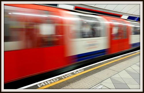 "Tube/London Underground ""Mind the Gap"". by drivethrucafe, on Flickr"