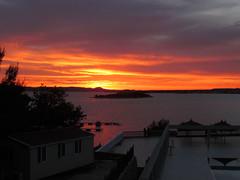 Pakostane (Loniview) Tags: camping sunset sea cloud sun island zonsondergang croatia zee coastline mira zon eiland kroatie wolk kust drage oasa pakostane adriatische