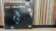 The Sensational Ray Charles (johnnytreehouse) Tags: ray charles jazz rb rhythm blues soul piano record vinyl lp album music collection