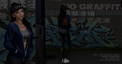 LB # 33  OMW HOME  ((iwiked residents)) Tags: secondlife parker evie seul beusy versov fashion tranniers snapback ponytail slblog belleza subway lookbook