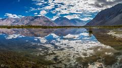 Perfect Reflection! (Kajin_k) Tags: ladakh leh india reflection water blue mountain mountains kashmir himalaya himalayas ngc