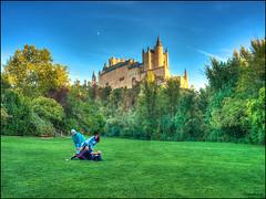 (2363) Alcázar de Segovia (QuimG) Tags: architecture arquitectura castell palau alcázardesegovia segovia spain landscape paisatge paisaje olympus quimg quimgranell joaquimgranell afcastelló specialtouch obresdart